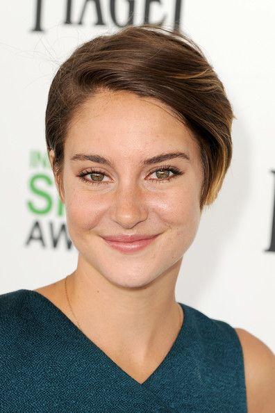 Shailene Woodley Hair Cut | Actress Shailene Woodley attends the 2014 Film Independent Spirit ...