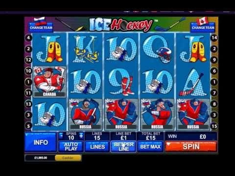 £20 No Deposit Ice Hockey ONLINE & MOBILE Casino Bonus