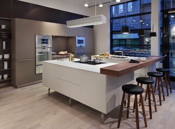 Kitchen architecture's bulthaup showroom in Cheshire #kitchens