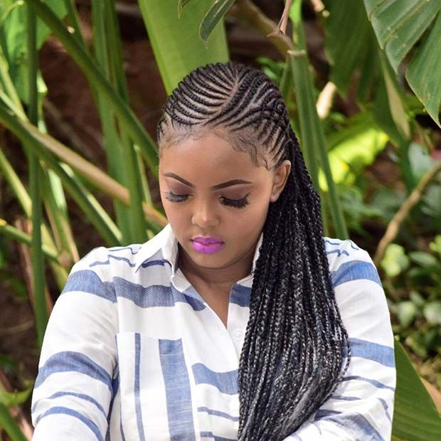 43 Trendy Ways To Rock African Braids Page 2 Of 4 Stayglam African Braids African Hairstyles Hair Styles