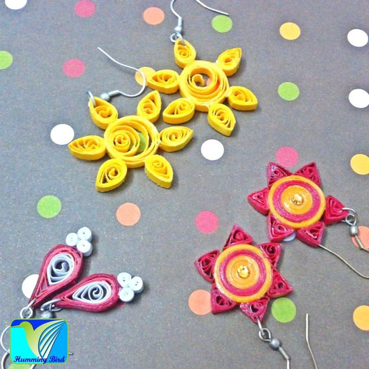 Quilling Papers Earrings: 1000+ Images About Quilling-Jewelry On Pinterest