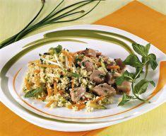 Cuscus con julienne di ortaggi e tonno fresco - Tutte le ricette dalla A alla Z - Cucina Naturale - Ricette, Menu, Diete