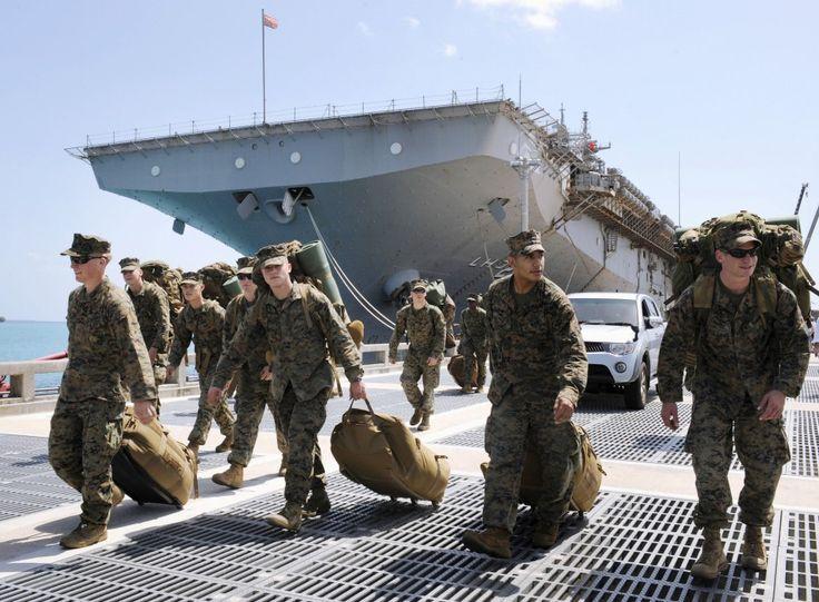 Okinawabased U.S. Marines may start moving to Guam in Oct