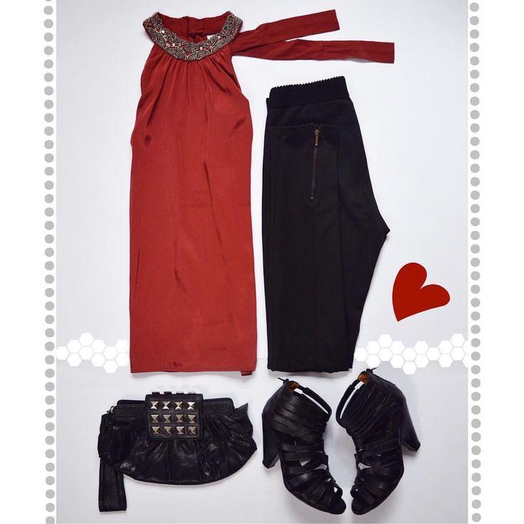 ❤️ES VIERNES Y TU CLOSET LO SABE❤️ 🔺VERO MODA Top Marsala (M) 🔺SINGOLARE Black Leggins Zipper (36) 🔺 BASEMENT Leather Booties (35) 🔺MANGO Clutch ⚠️www.bazarvintage.cl #BazarVintageCL #ReuseFashion #VintageBag #digitalart #reutilizar #closet #online #marketing #branding #vende #compra #fashion #moda #vintage #VintageClothes #vintageclothing #soyceroplástico #vintagelove #vintagefashion #ExclusiveClothes