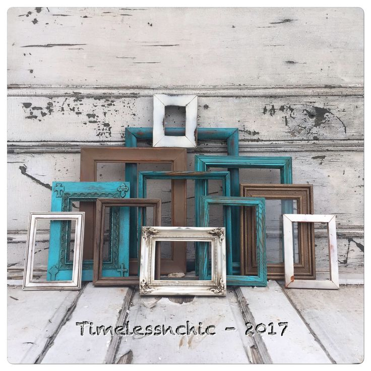 A personal favorite from my Etsy shop https://www.etsy.com/listing/520127600/teal-picture-frame-picture-frames-rustic