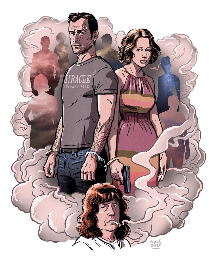 """679 curtidas, 15 comentários - David M. Buisán Illustration (@davidmbuisan) no Instagram: """"THE LEFTOVERS Final Season is here!!  #theleftovers #carriecoon #hbo #justintheroux"""""""