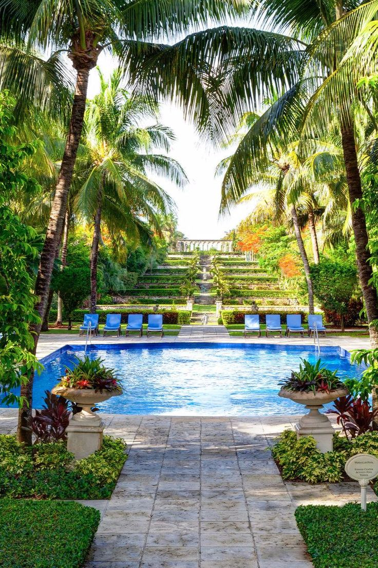 Lounge beside the adults-only pool and admire Ocean Club's famed Versaille-inspired gardens. One&Only Ocean Club (Nassau, The Bahamas) - Jetsetter