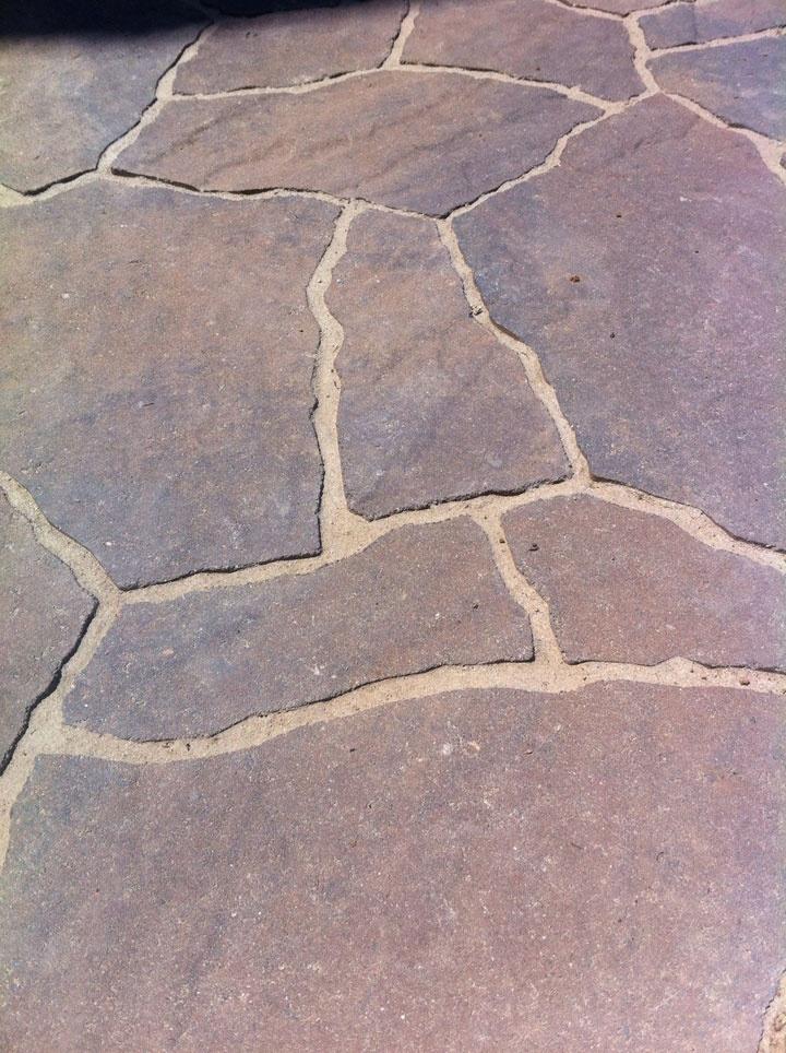Flagstone Patio Block : Best images about block brick concrete pavers stone