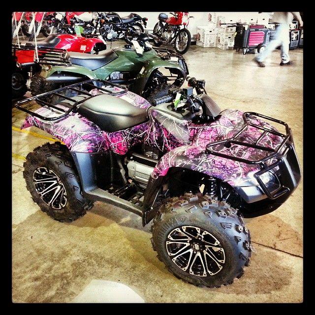 I NEED THIS!! Southern Honda Powersports: Sold the last #MuddyGirl pink camo #Honda #atv. We...