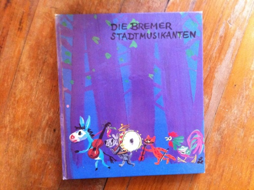 Die Bremer Stadtmusikanten, 1962 Bertelsmann Verlagsgruppe Illustration by Horst Lemke