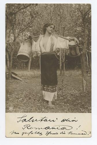 Gypsy Gipsy Near Nude Erotic Sexy Lady Original 1910s Gelatin Photo Postcard D | eBay