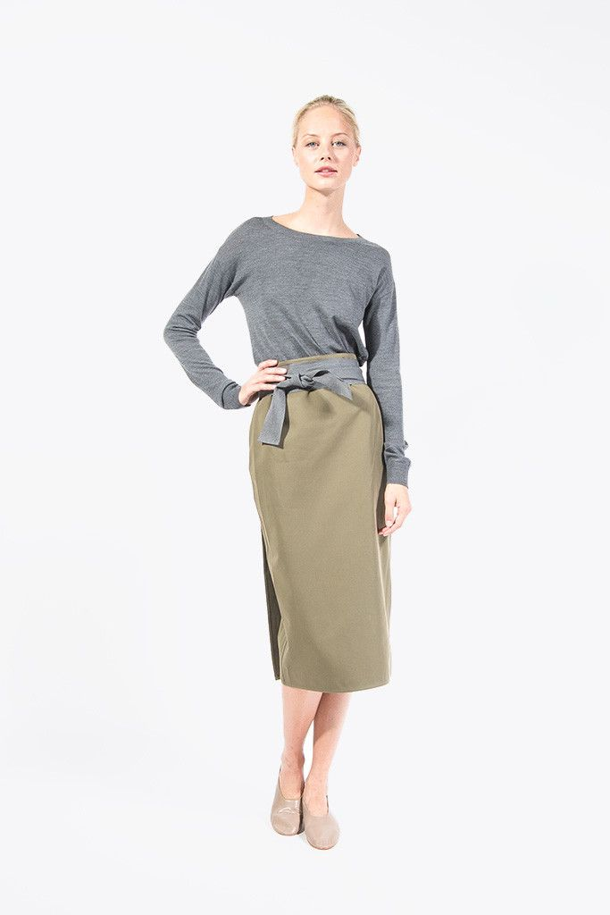 Slim Skirt by Sofie D'Hoore @ Kick Pleat - 9