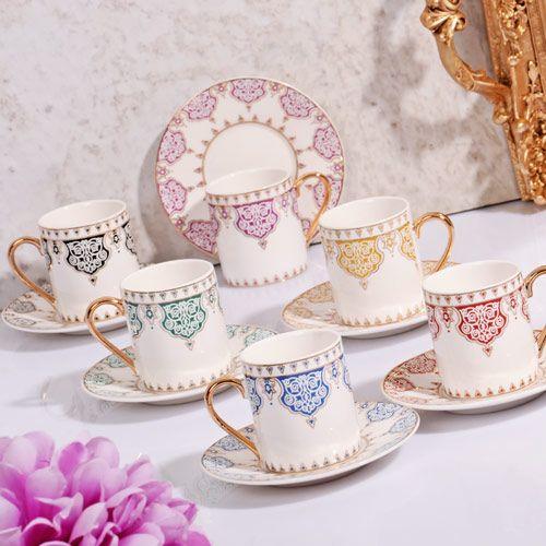 pembe bölmeli metal kek kalıbı modelleri, %50'ye varan indirim, taksitli alışveriş,  hızlı kargo, kırılmaz ambalaj ve satış sonrası destek Renkli & Desenli & Porselen Şık 6'lı Kahve Fincan Takımı  Renkli & Desenli & Porselen Şık 6'lı Kahve Fincan Takımı ,
