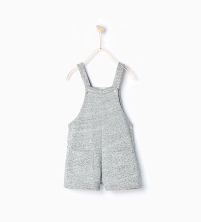 Image 2 of DUNGAREES WITH POCKETS from Zara