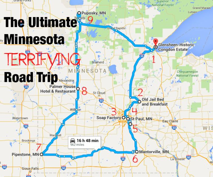 The Ultimate Terrifying Minnesota Road Trip Is Right Here And You'll Want To Do It