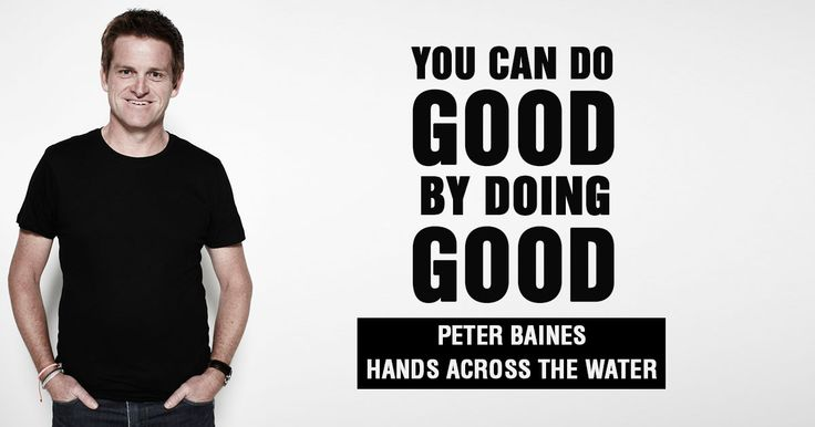 Peter Baines the founder of Thailand-based charity Hands Across The Water shares his insights on how to do good business by doing good.