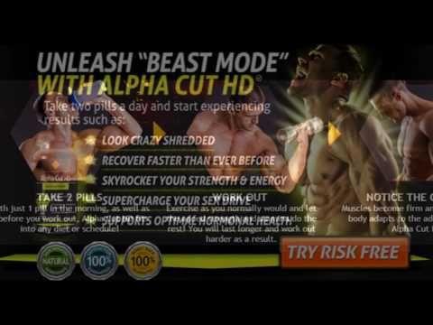 Alpha Cut HD &&  Get Totally Ripped Fast with Alpha Fuel XT & Alpha Cut HD