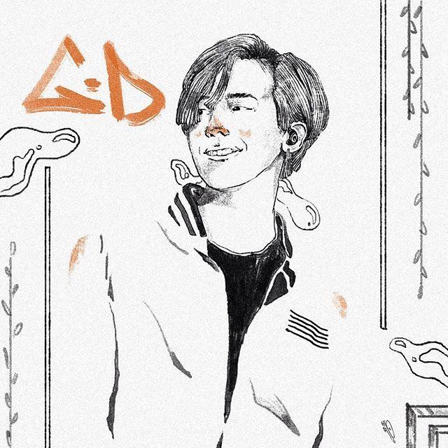 Illustration Base Photo From G Dragon @xxxibgdrgn #Illustration #DigitalIllustration #ModernArt #ArtofTheDay #Breaktime120 #Art #September #2016 #Gdragon