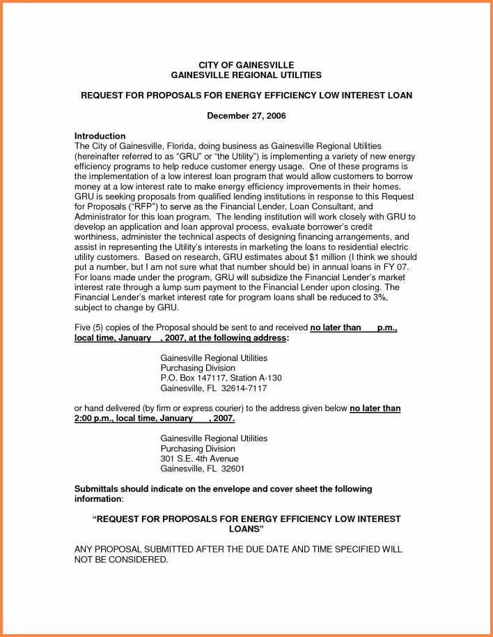 Personal Loan Proposal Template Inspirational Best Solutions Of Business Proposal Lett Business Proposal Template Proposal Templates Business Proposal Examples