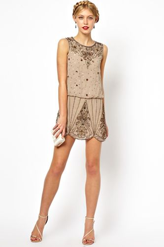 Party Dresses - Short Cocktail Styles. Love the modern day Gatsby vibe