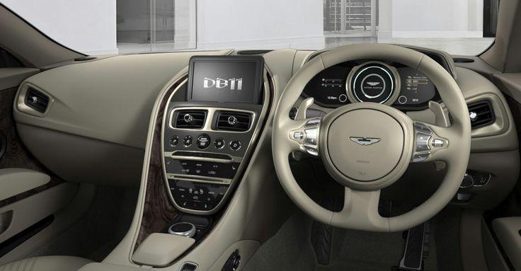 Astin Martin DB11 interior
