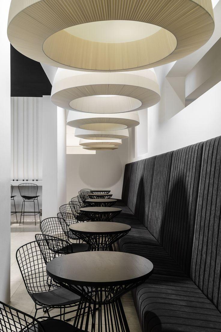 Gdanski Teatr Szekspirowski, bar interior design by Marta Koniczuk