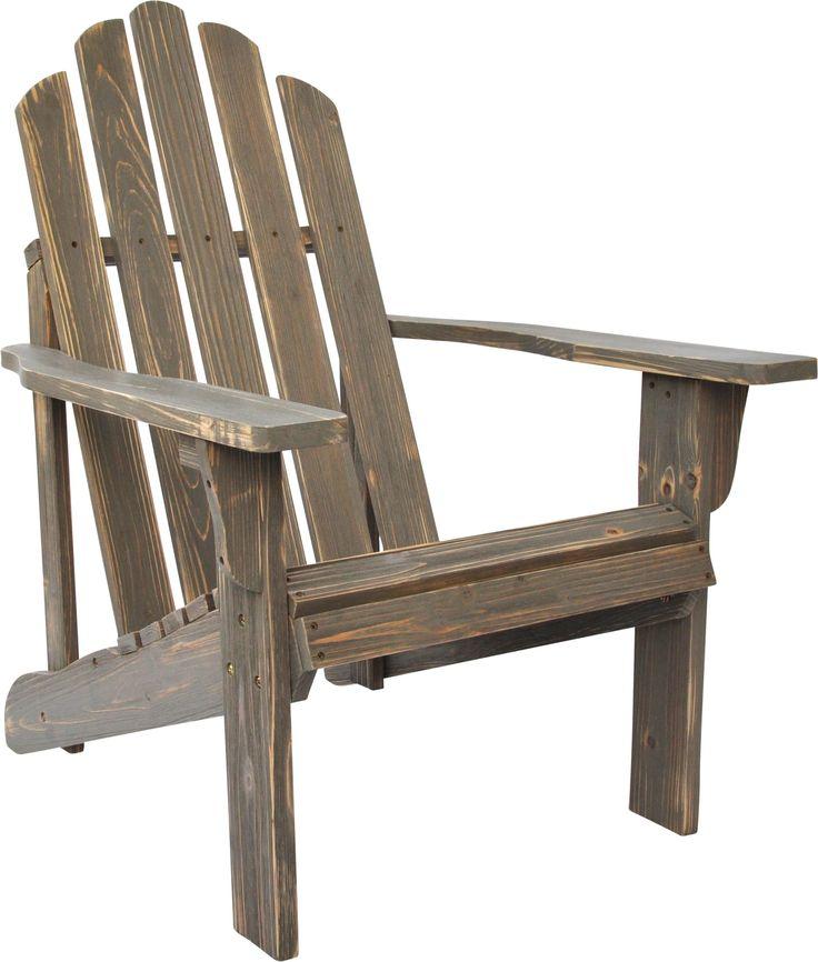 Rustic Adirondack Chair