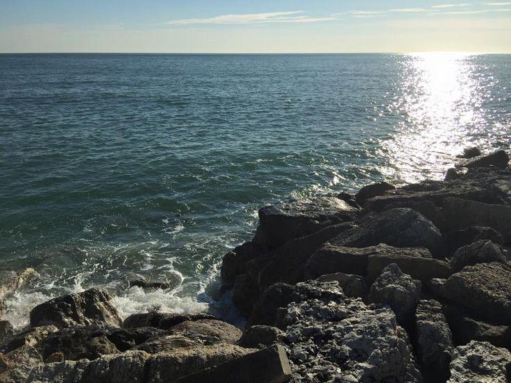 Quando i miei pensieri sono ansiosi, inquieti e cattivi, vado in riva al mare, e il mare li annega e li manda via con i suoi grandi suoni larghi, li purifica con il suo rumore, e impone un ritmo su tutto ciò che in me è disorientato e confuso.Rainer Maria Rilke