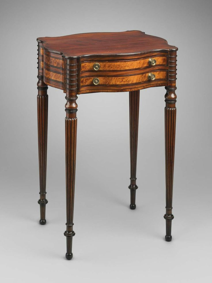 c1800 Sheraton work table, pss-Th Seymour, Boston, mah,mple, - 81 Best Federal Furniture Images On Pinterest