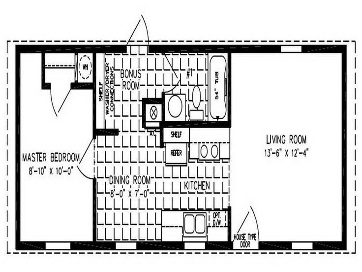 Mobile Home Layouts  Double Wide