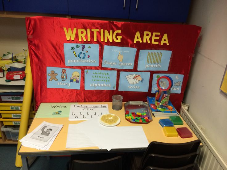 Writing area year 1 auto