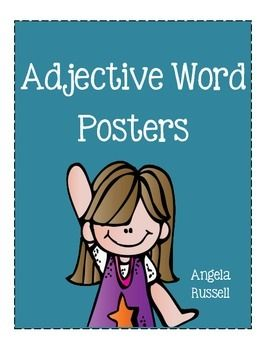 This is a set of 9 adjective word posters.They include adjectives that describe:ShapeSizeTasteTouchTimeAmountEmotionAppearanceColorNote: These are just a couple of words that I came up with, I am sureyou and your students can add more to my collection.