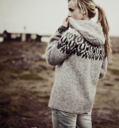 Icelandic hooded sweater