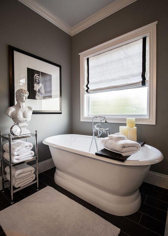 from a bathroom to a escape gray bathroom decorgray