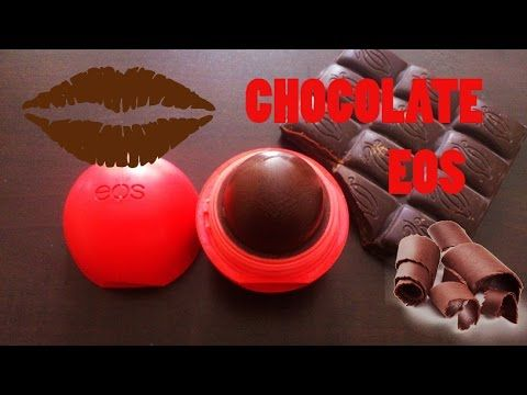 DIY: Tinted chocolate EOS lip balm without beeswax