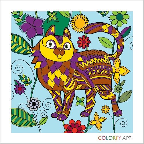 7 best Colorfy images on Pinterest | Coloring apps, Coloring books ...