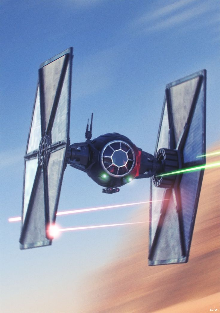Starwars - First Order Special Forces Tie Fighter - Dogfight