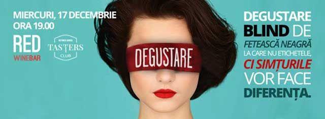 Degustare BLIND de Feteasca Neagra @RED Winebar