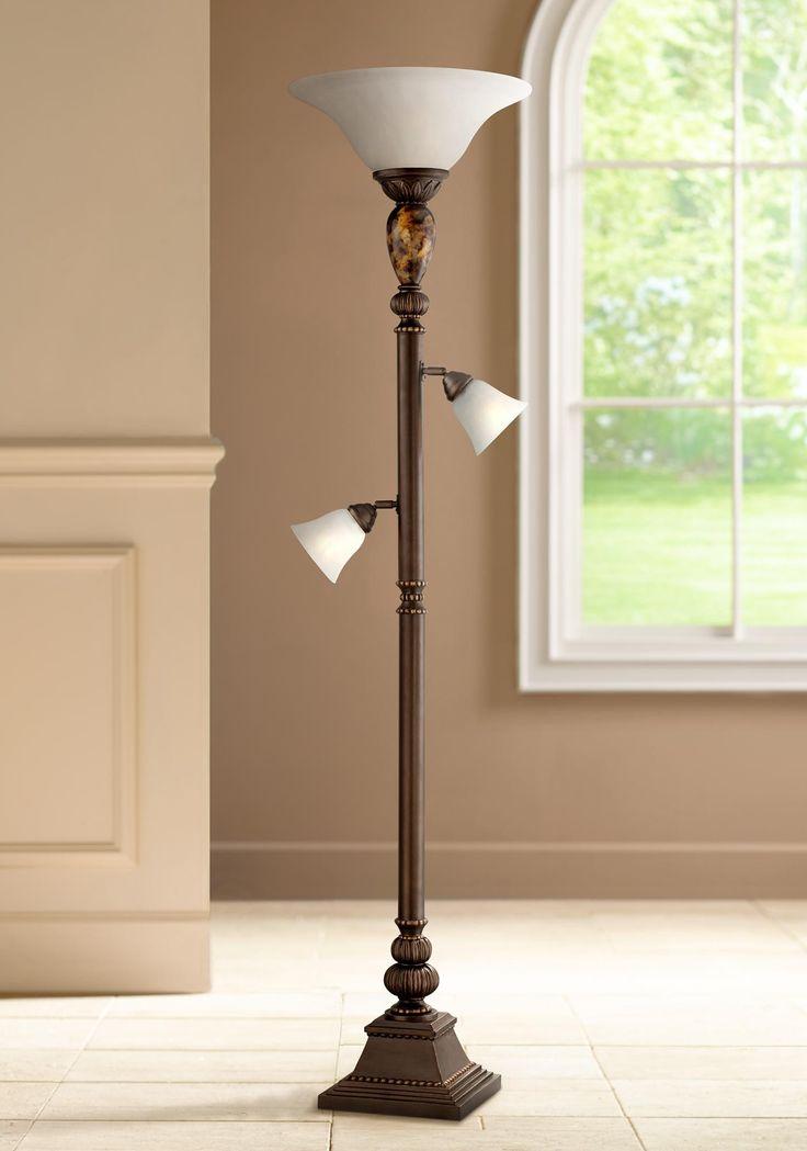 Kathy Ireland Mulholland Tree Torchiere Floor Lamp