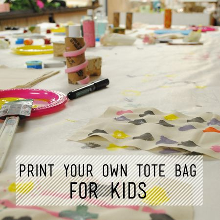 Kids Print Your Own Tote Bag Taught by Charlotte Rigby Are you looking for something different to do after school? Take some time to slow down and make tim...