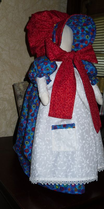 "the pattern is on ""All free sewing""  just search for Sunbonnet Sue door stop"