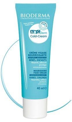 Bioderma ABCDerm Cold Cream Face 40 ml- Koruyucu ve yumuşatıcı yüz kremi