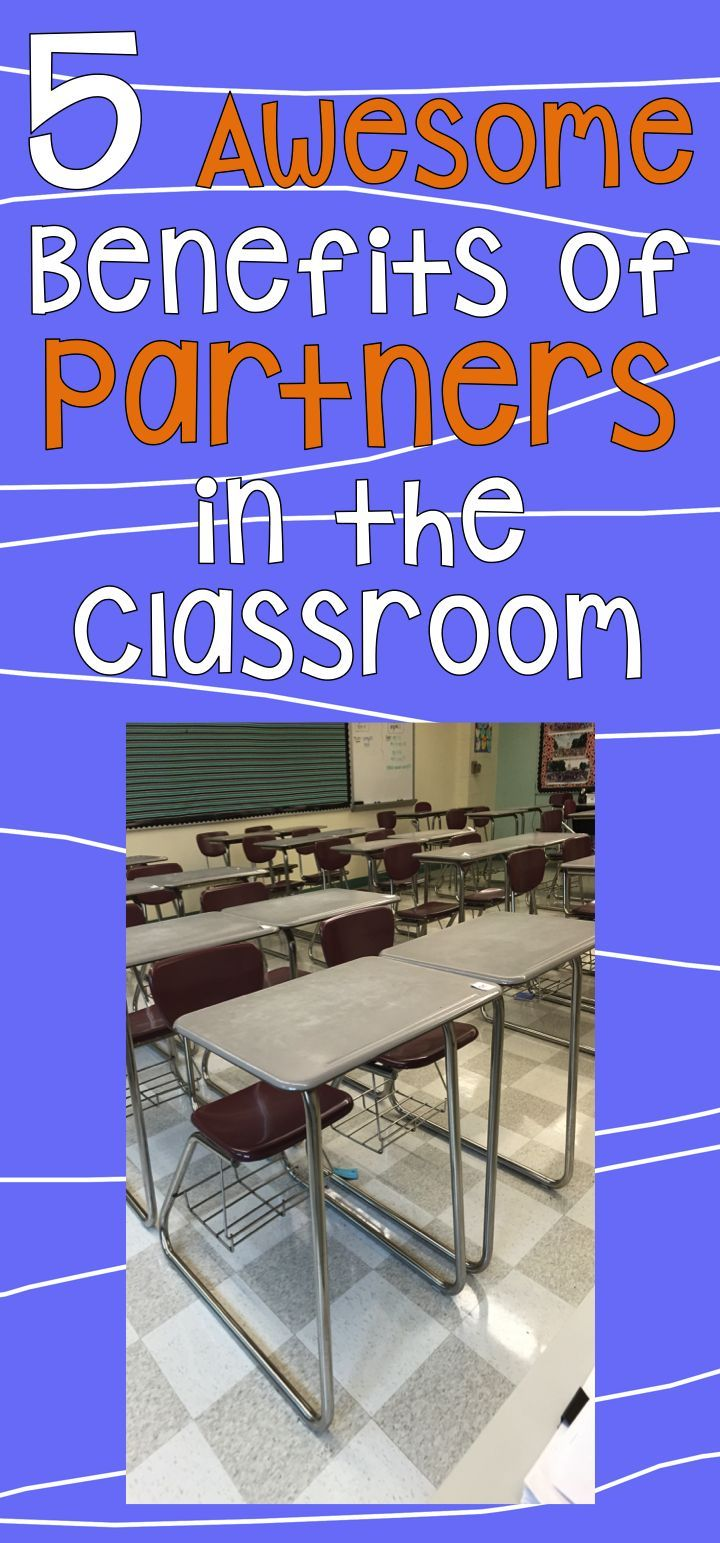 Free to Discover the Common Core: 5 Awesome Benefits of Partners in the Classroom - It is so important to provide students with a variety of learning experiences in order to meet the needs of different learning styles and to keep students engaged. Students engage in various activities individually, in pairs, in small groups, and as a whole class. In my eighth grade math classes, one of my favorite ways to group my students is in pairs.