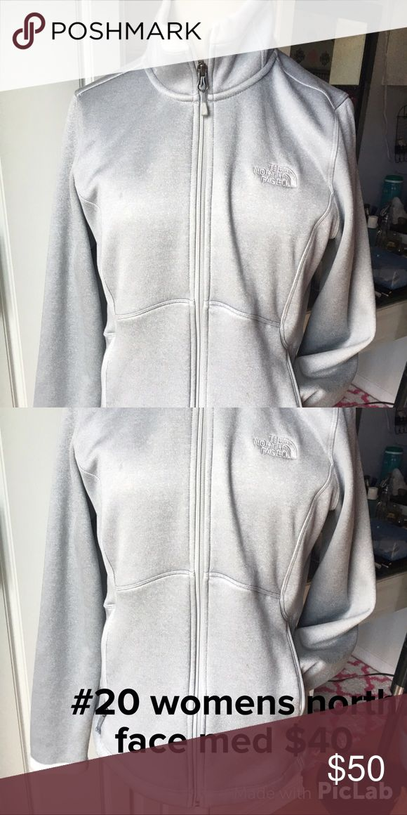 Women's north face zip up hoodie med Very soft material. Always cheaper on ♏️️...check out my other listings for Victoria Secret, Pink, buckle, miss me, Rock Revivals, Not Rated, True religion, express, affliction, sinful!! North Face Tops Sweatshirts & Hoodies