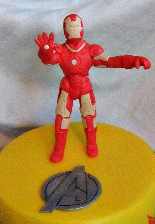 Iron Man Fondant Figurine The World Of Fondant