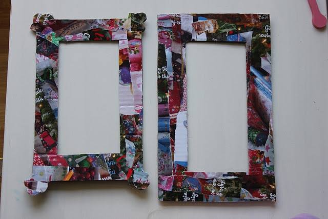 Magazine Collage Picture Frames
