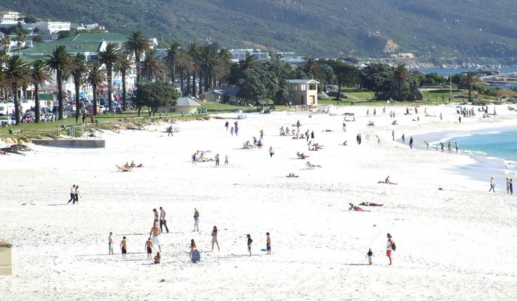 Camps Bay has a distinctly beachy atmosphere, a little bit south LA, a little bit French Riviera. Except the ocean is ice cold.  africatravelresource.com