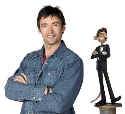 Hugh Jackman Photo - Flushed Away Movie Photo