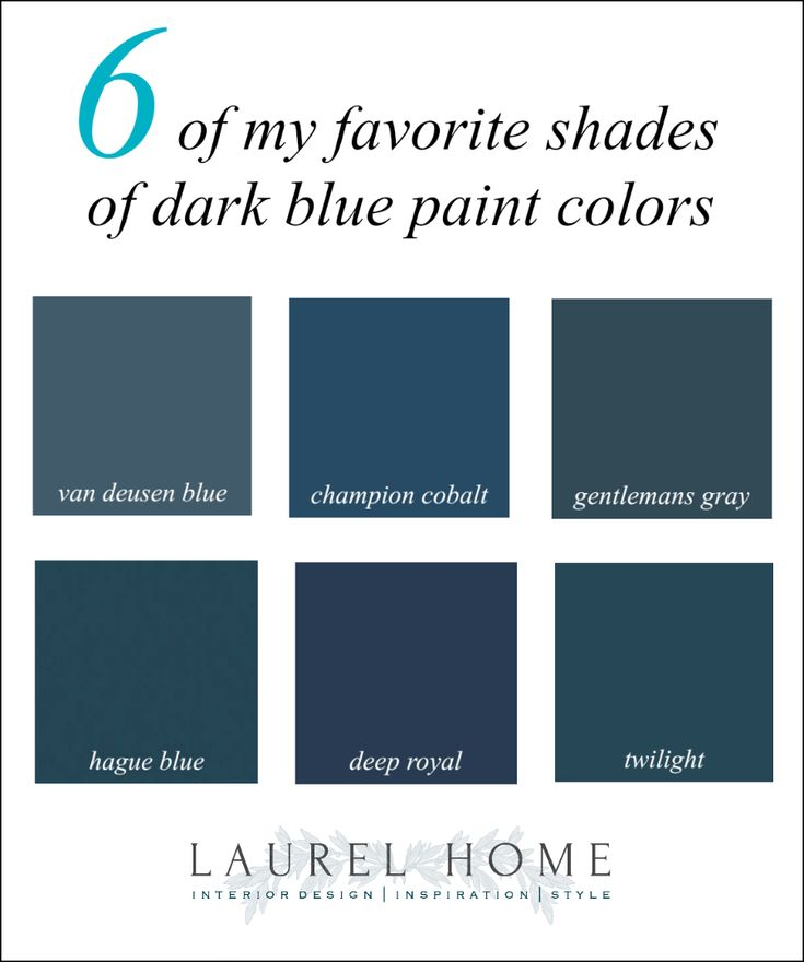 Do The Best Dark Blue Paint Colors Give You The Blues ...
