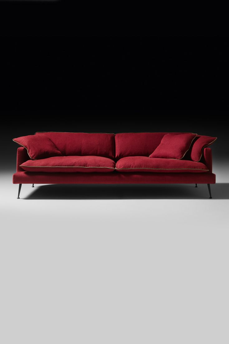Perfect in any setting, the Modern Italian Velvet Designer Sofa is a statement of timeless glamour. Born from the desire to create a lightweight and linear concept, its clean lines embrace and create the most striking outline. A touch of retro style in its minimal design, to enhance both a classic or contemporary interior!
